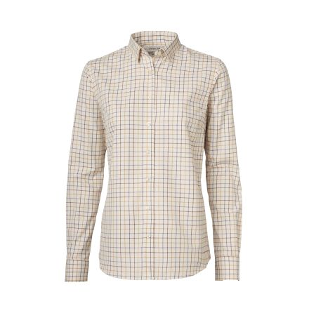 Chevalier Monikie Shirt Women Golden Oak Checked