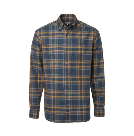 Chevalier Sarek Shirt Men Dusty Blue Checked