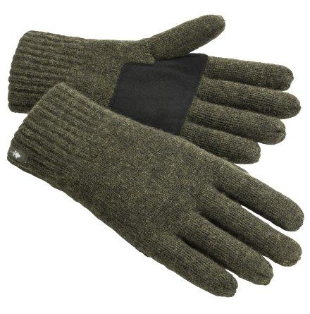Pinewood Wool Knitted Glove Mossgreen