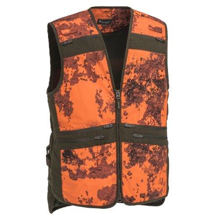 Pinewood Furudal Hunter Camou Vest Strata Blaze/Brown