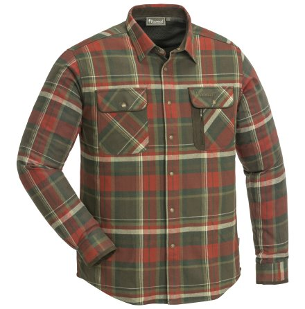 Pinewood Cornwall Shirt Copper/Brown