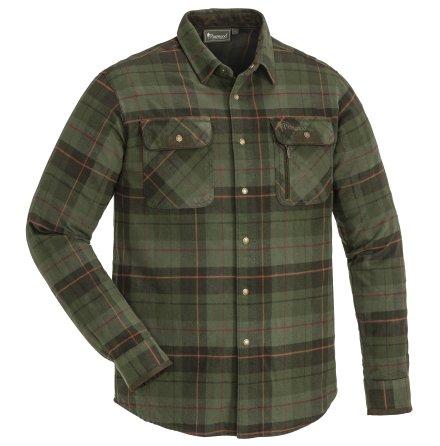 Pinewood Prestwick Exclusive Shirt Green/Terracotta